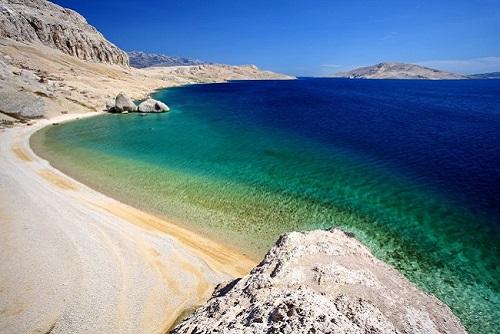 spiagge isola di pag